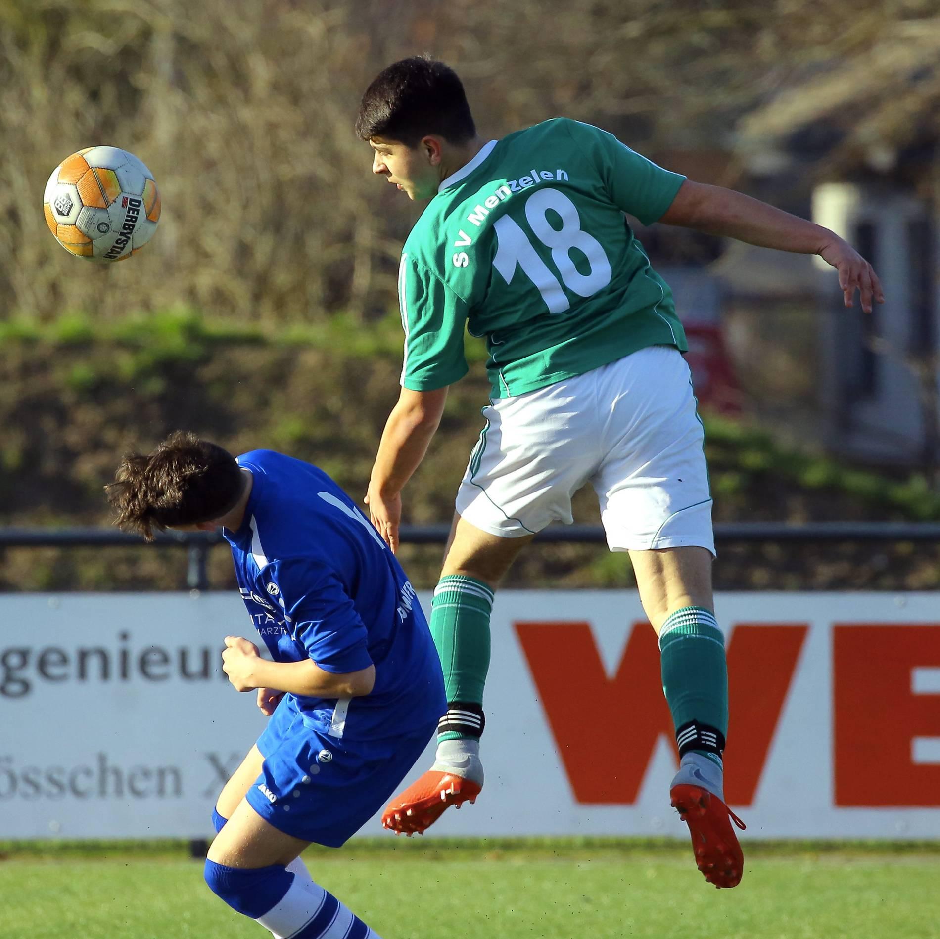 Fussball C Jugend Des Sv Menzelen Deklassiert Vfl Repelen