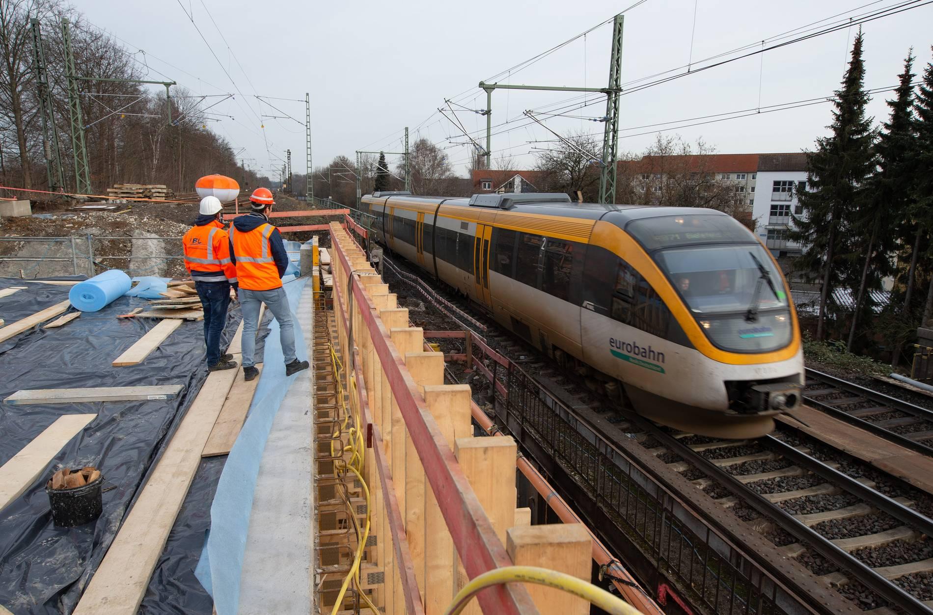 Warnstreik bei Eurobahn: Zugausfälle am Morgen
