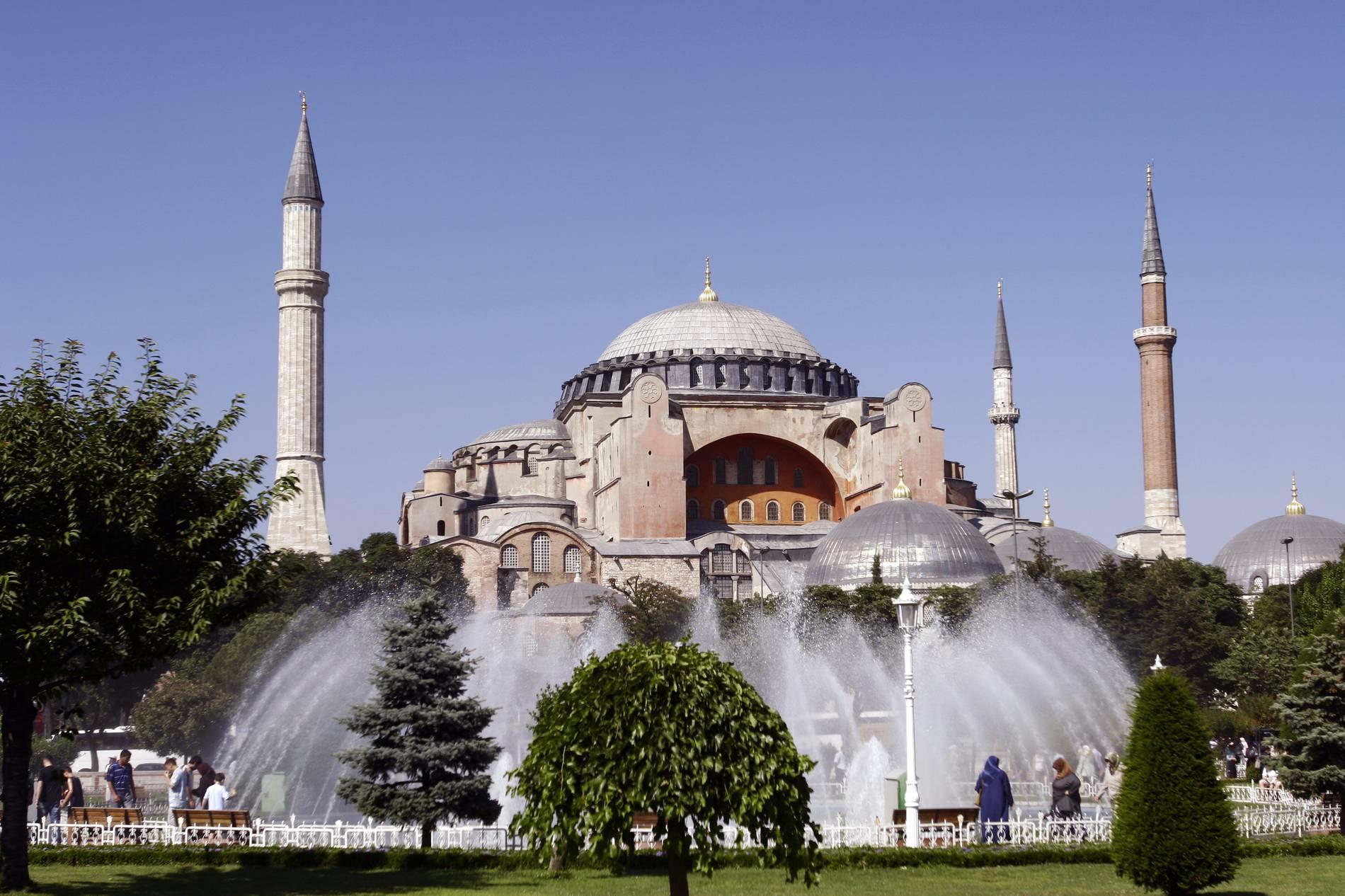 News NEWSTIME Hagia Sophia bald eine Moschee?