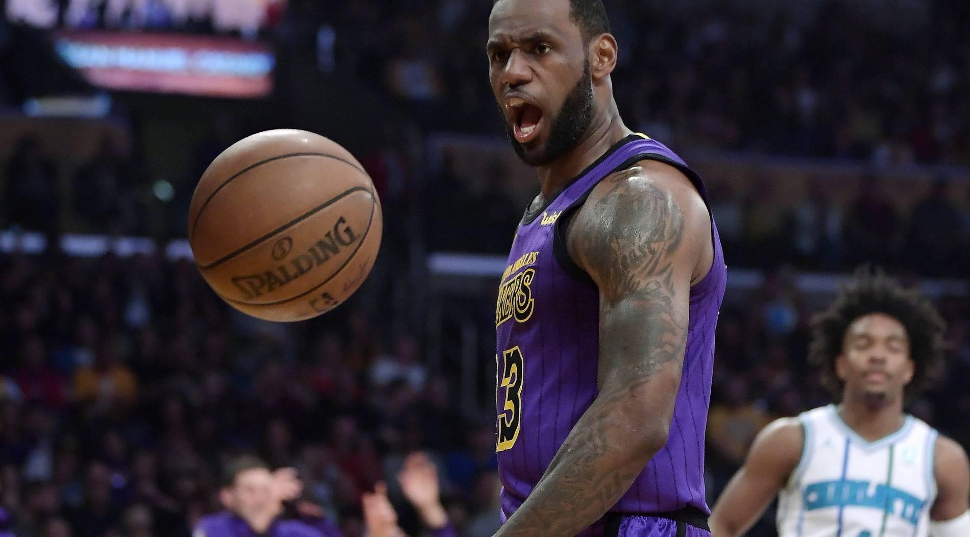 NBA-Saison für LeBron James schon beendet