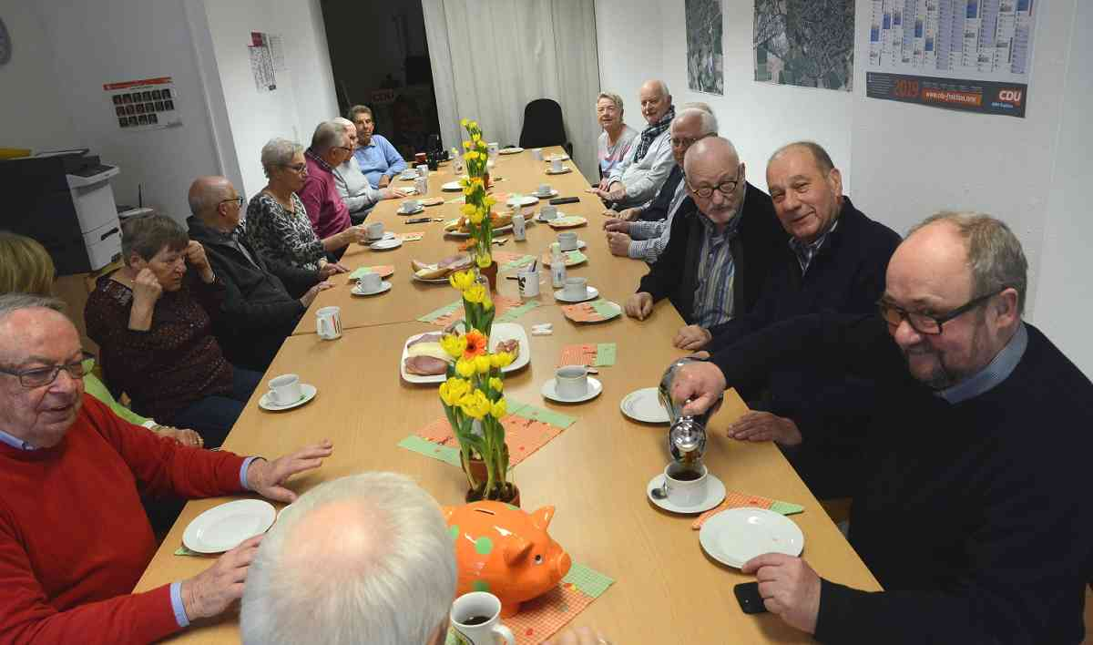 Senioren über 60 aus