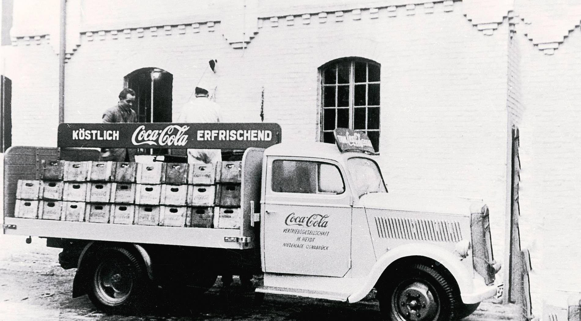 Wie die Cola nach Deutschland kam