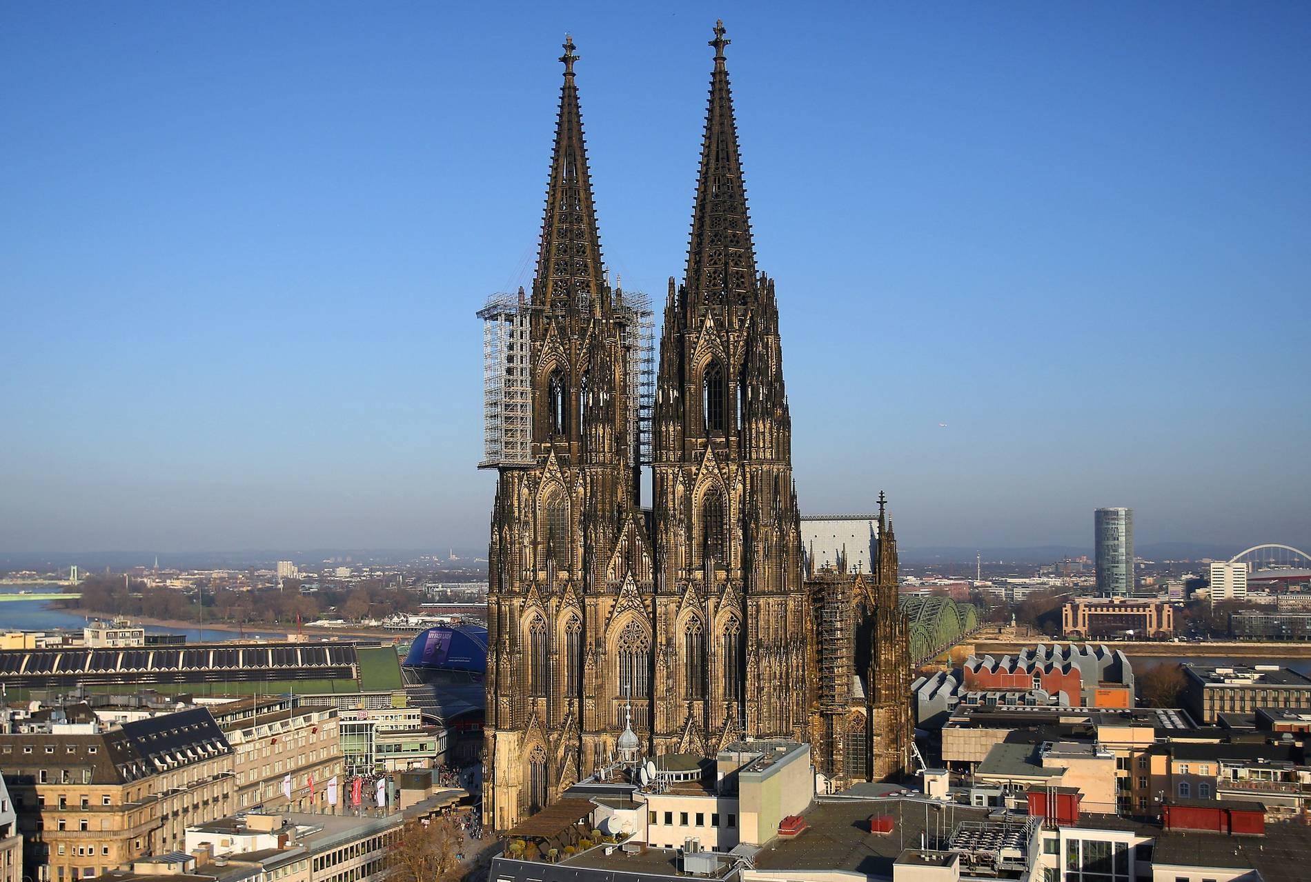 Kölner Dom Brand