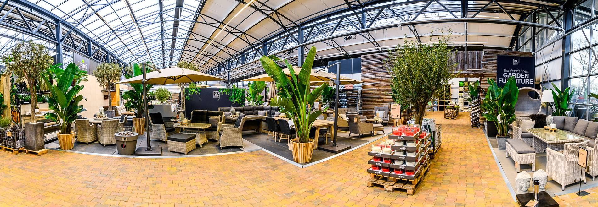 Gartencenter Leurs: Die größte Gartenmöbel-Ausstellung in