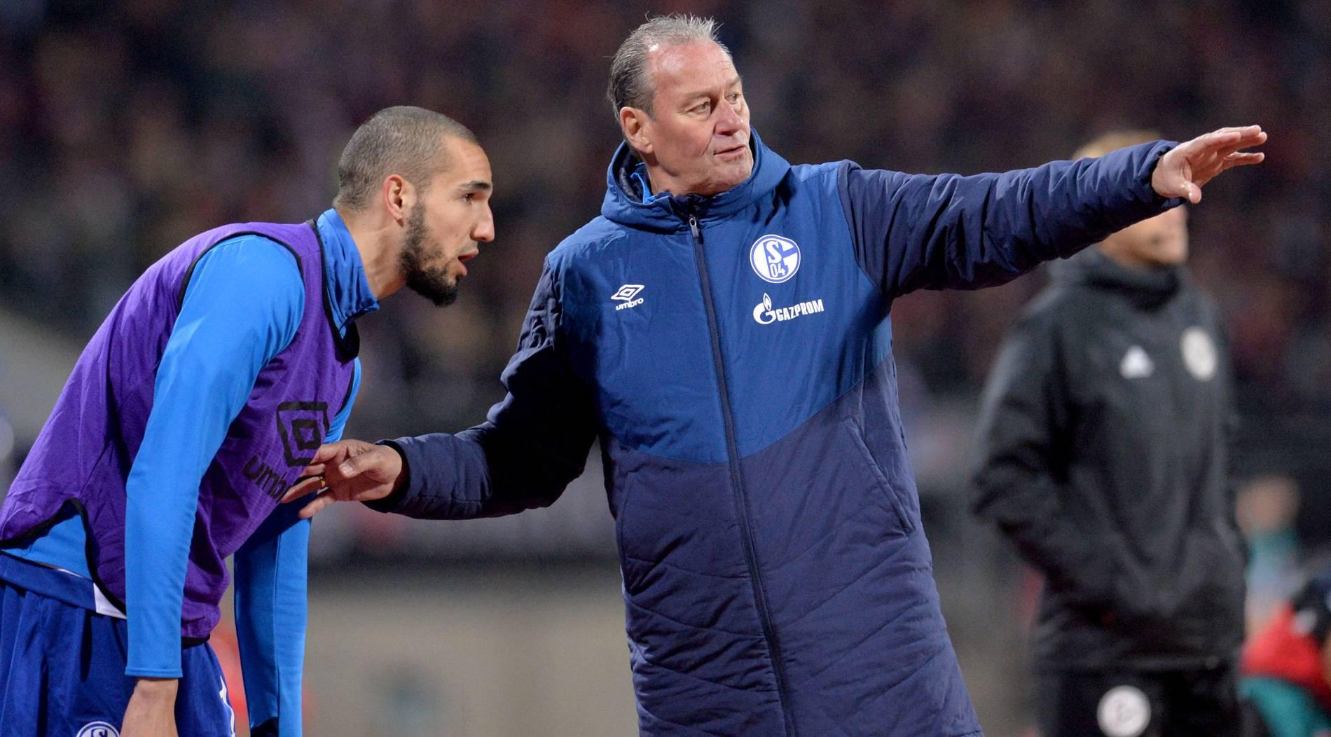 """Zoff im Schalker Training nur ein """"Joke"""""""