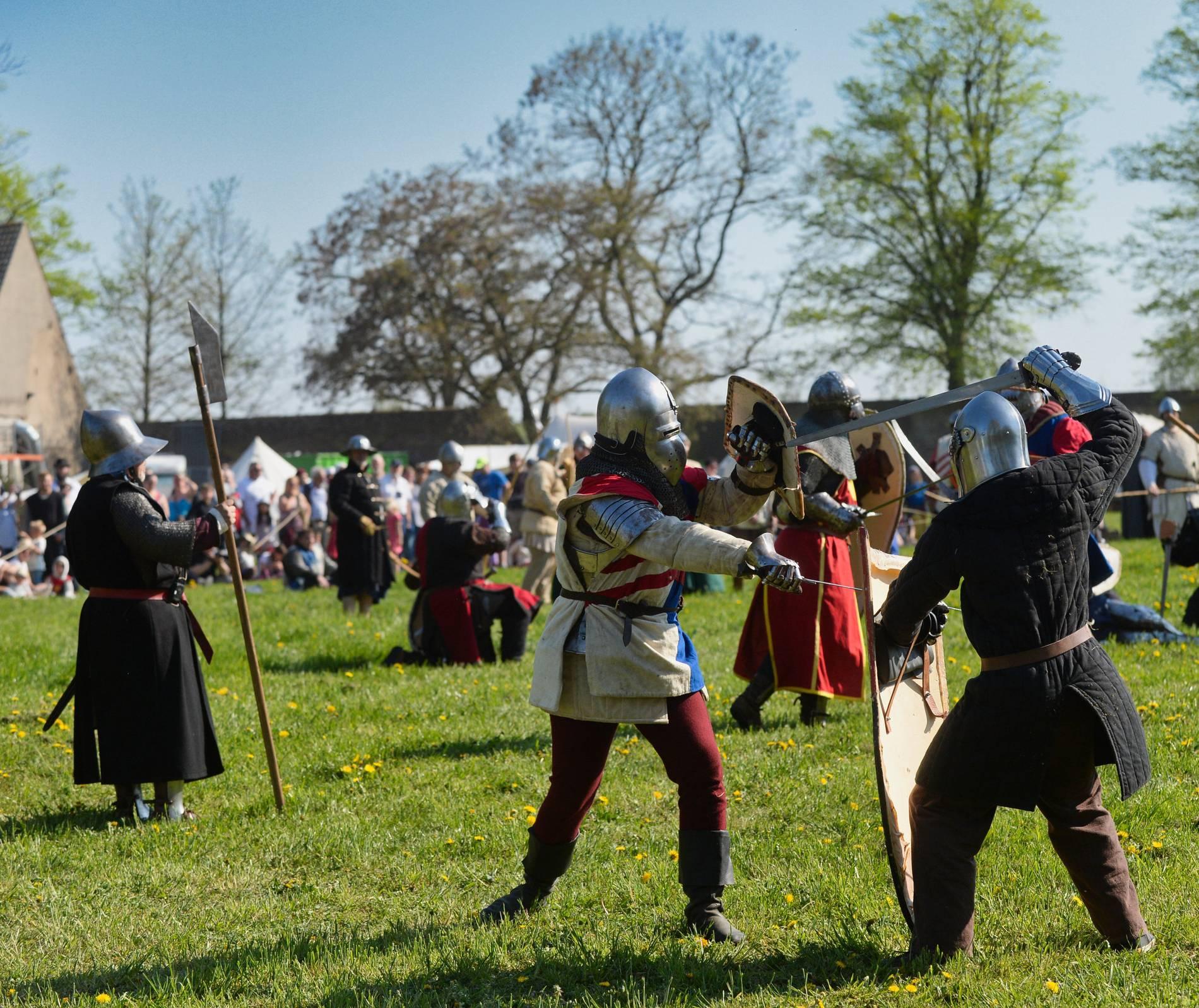 So Schon War Das Mittelalterfest Auf Gut Graefenthal In Goch