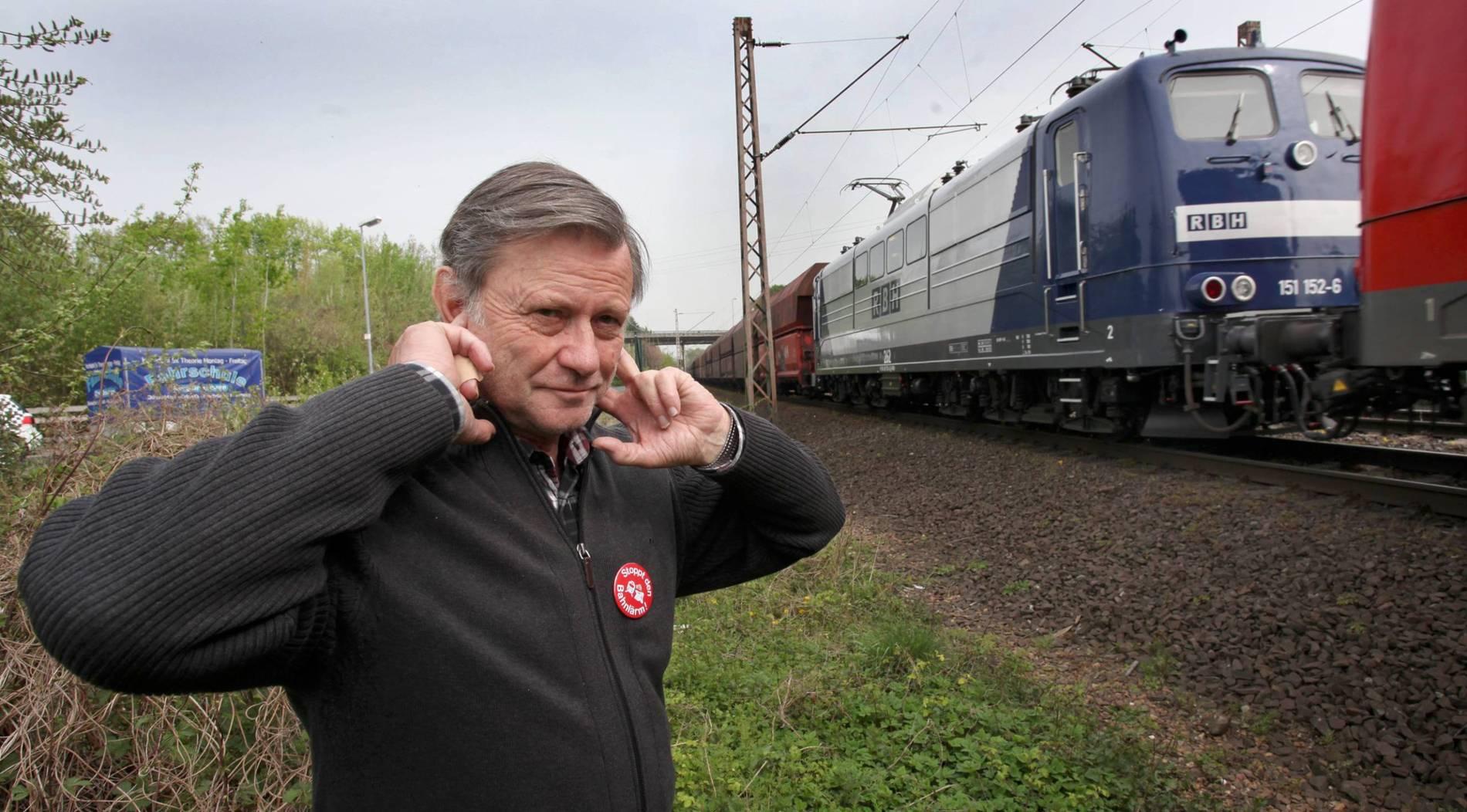 Bahn testet kleinere Lärmschutzwände