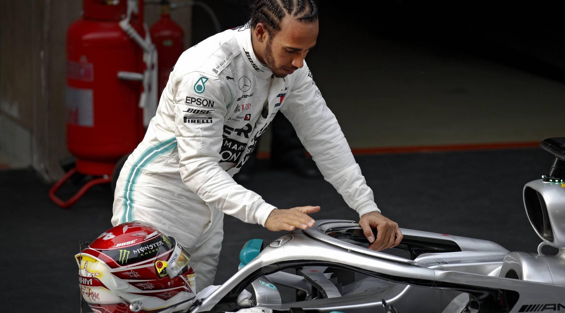 Hamilton ist kein großer Freund der Formel E