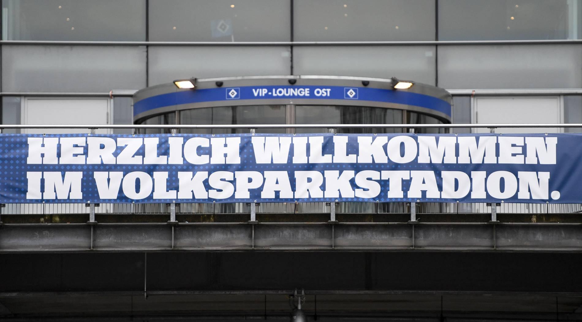 HSV-Arena heißt ein weiteres Jahr Volksparkstadion