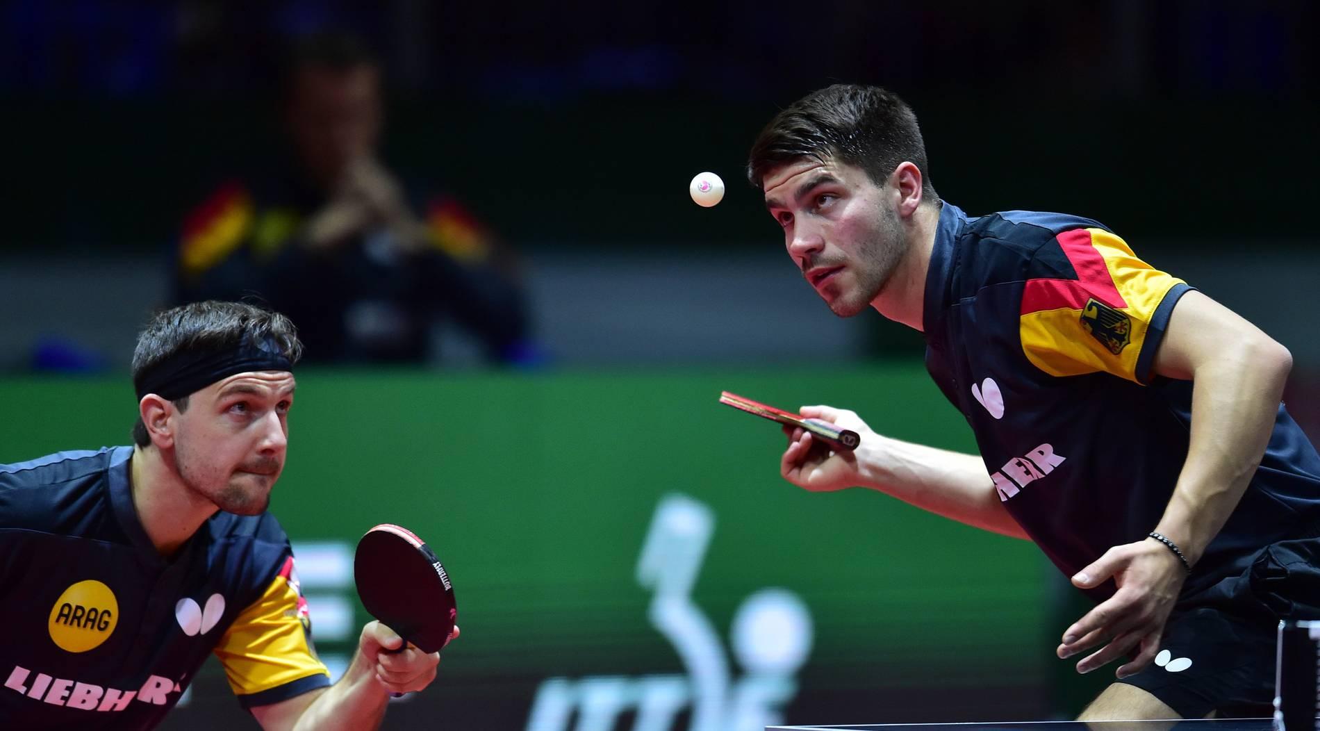 Timo Boll und Patrick Franziska greifen nach Doppel-Medaille