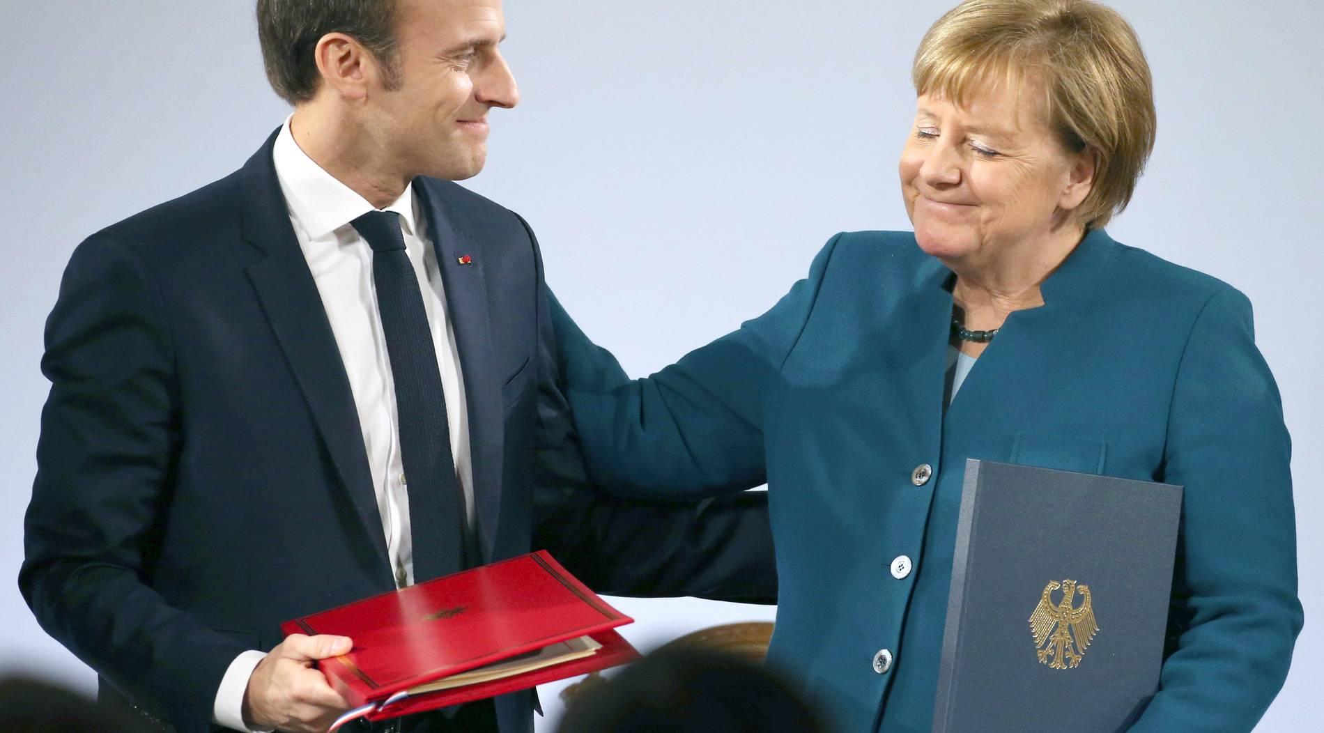 Macron räumt Differenzen zwischen Deutschland und Frankreich ein