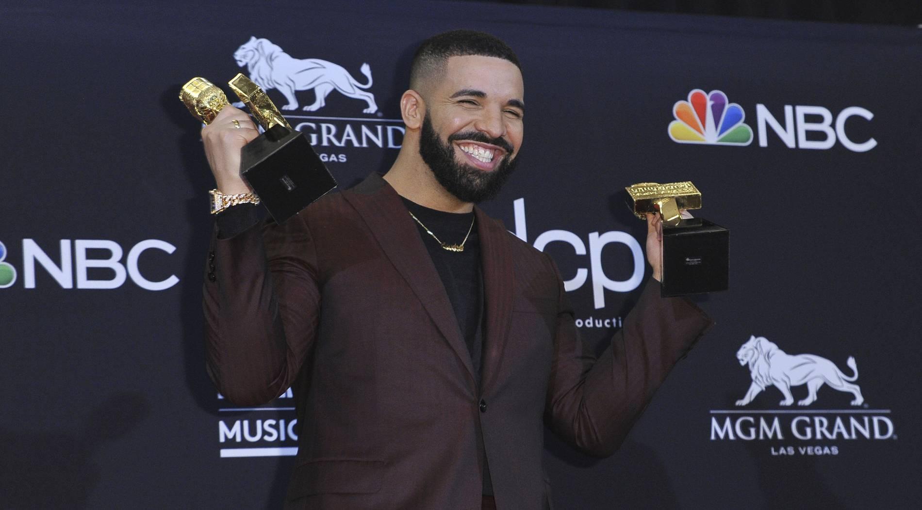 Drake bricht Rekord von Taylor Swift bei Billboard Awards