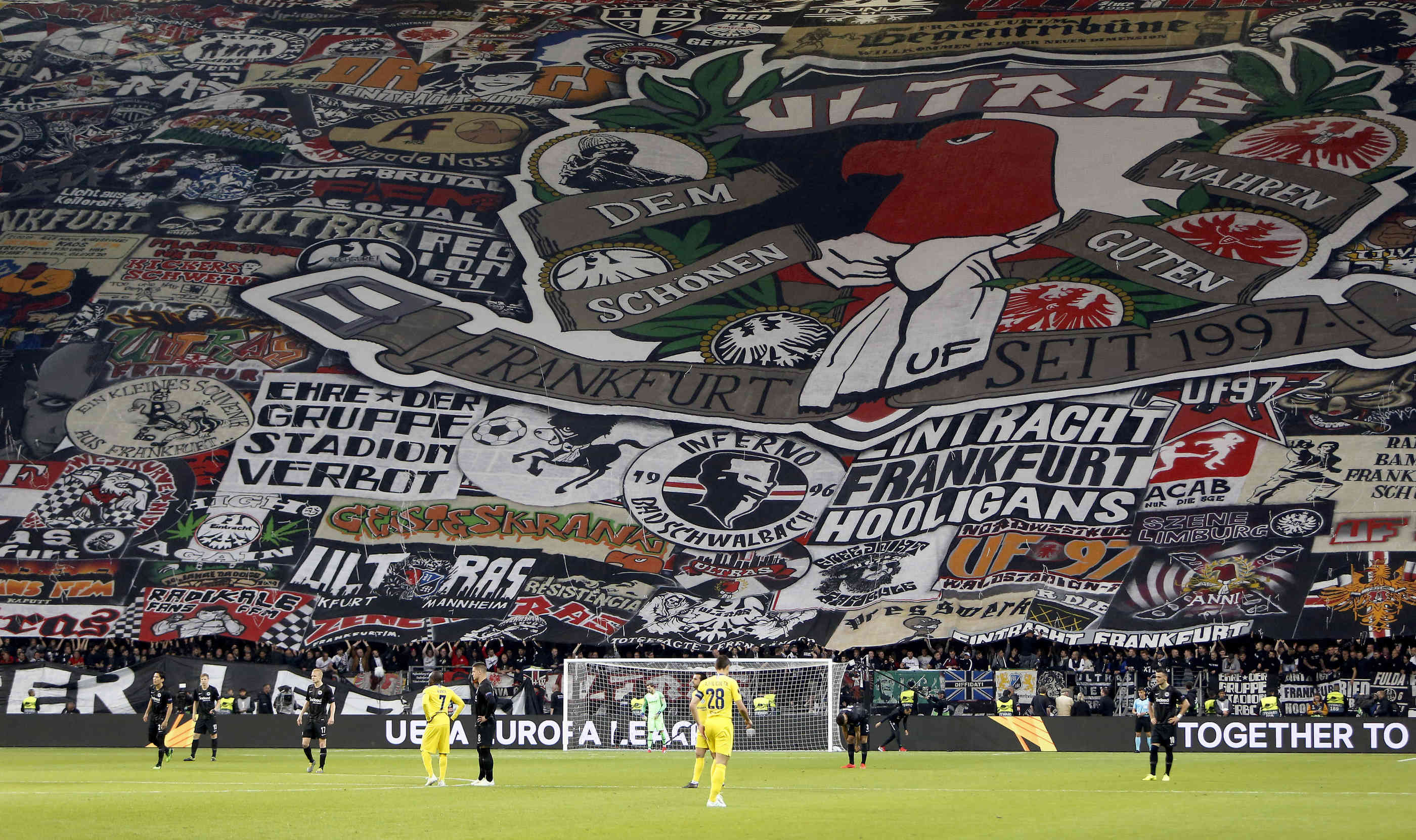 Eintracht Choreo