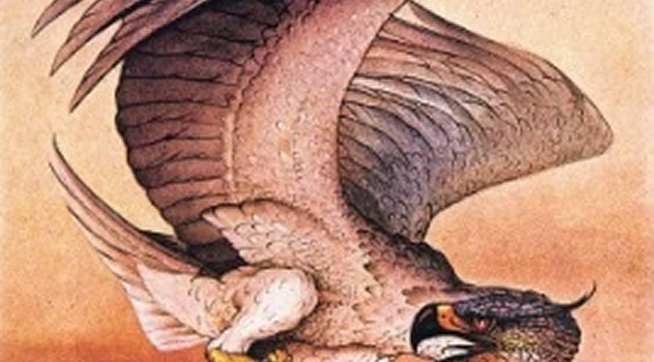 Der sagenumwobene Riesenvogel Rukh