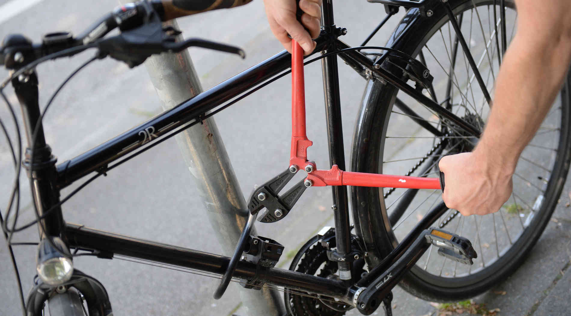 Viele Fahrrad-Schlösser lassen sich leicht aufbrechen