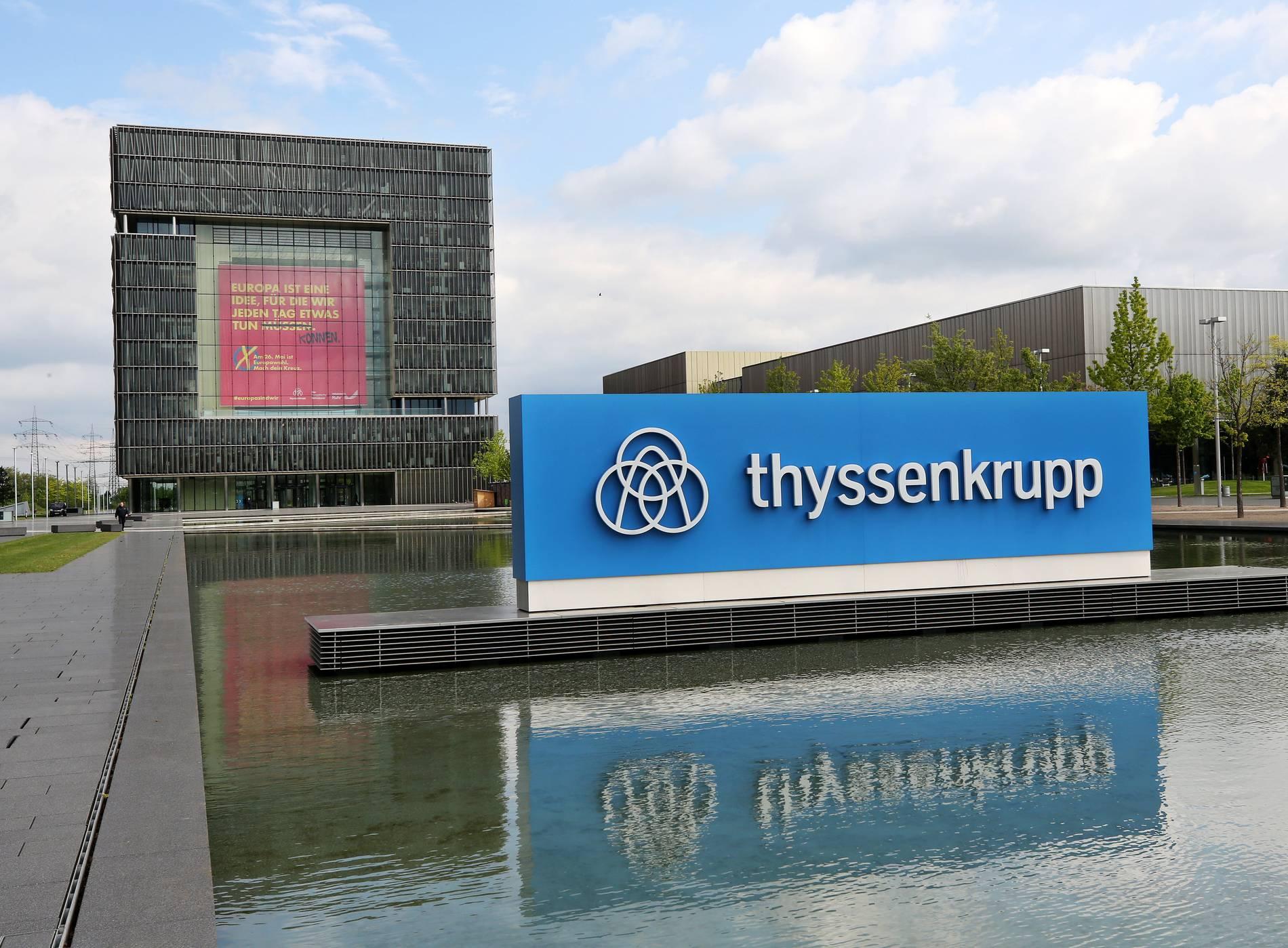 Essen - Thyssenkrupp sagt Aufspaltung ab