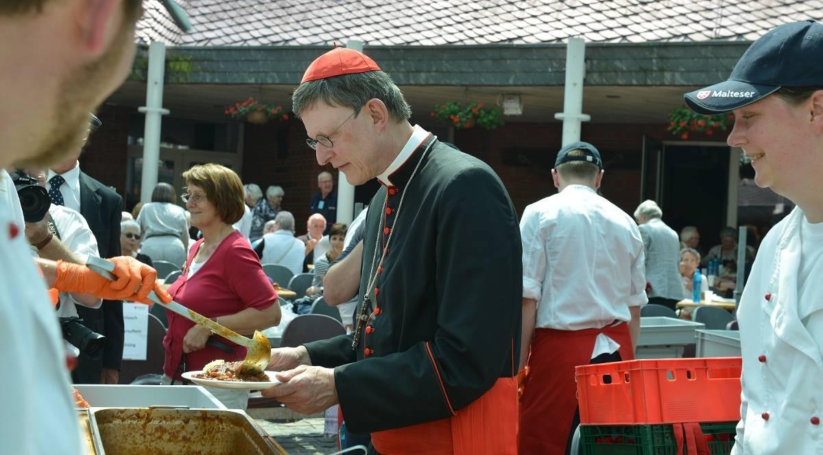 Rotkohl für den Kardinal