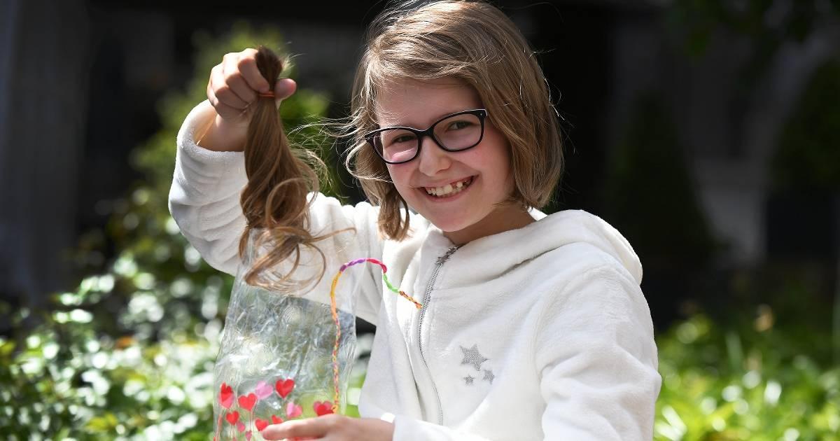 Geldern: Neunjährige spendet ihre Haare für krebskranke Kinder
