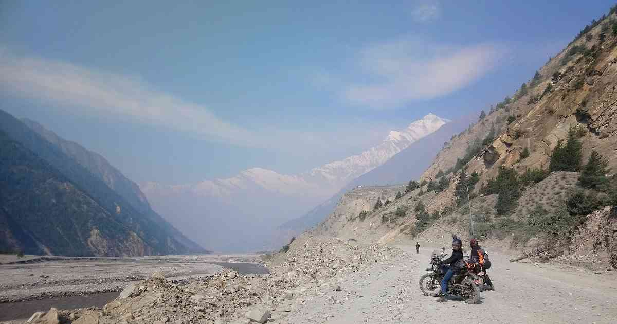 Abenteuerurlaub mit dem Motorrad in Nepal