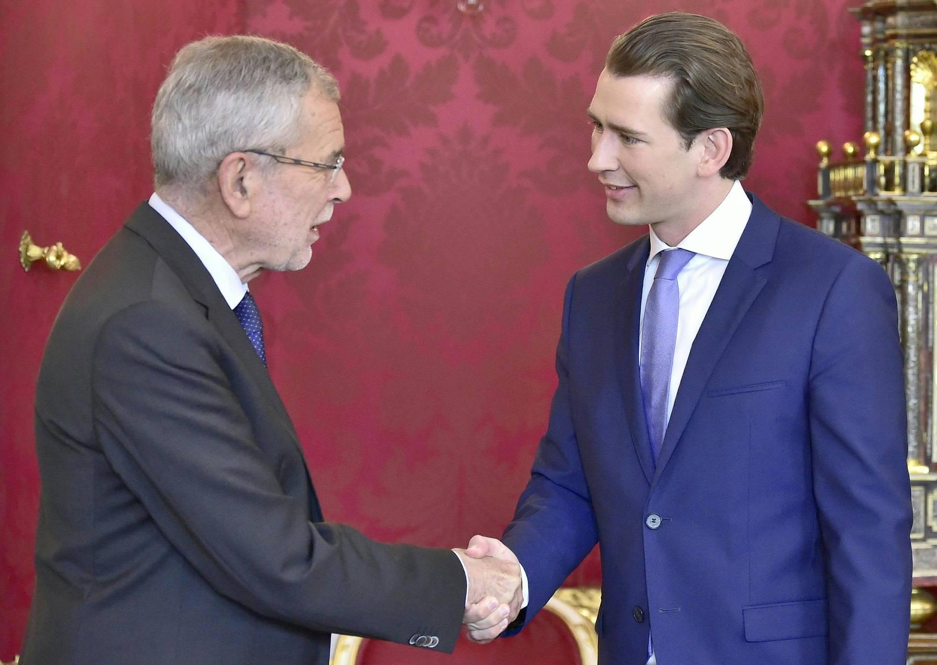 Kanzler Sebastian Kurz (ÖVP) will baldige Neuwahlen in Österreich