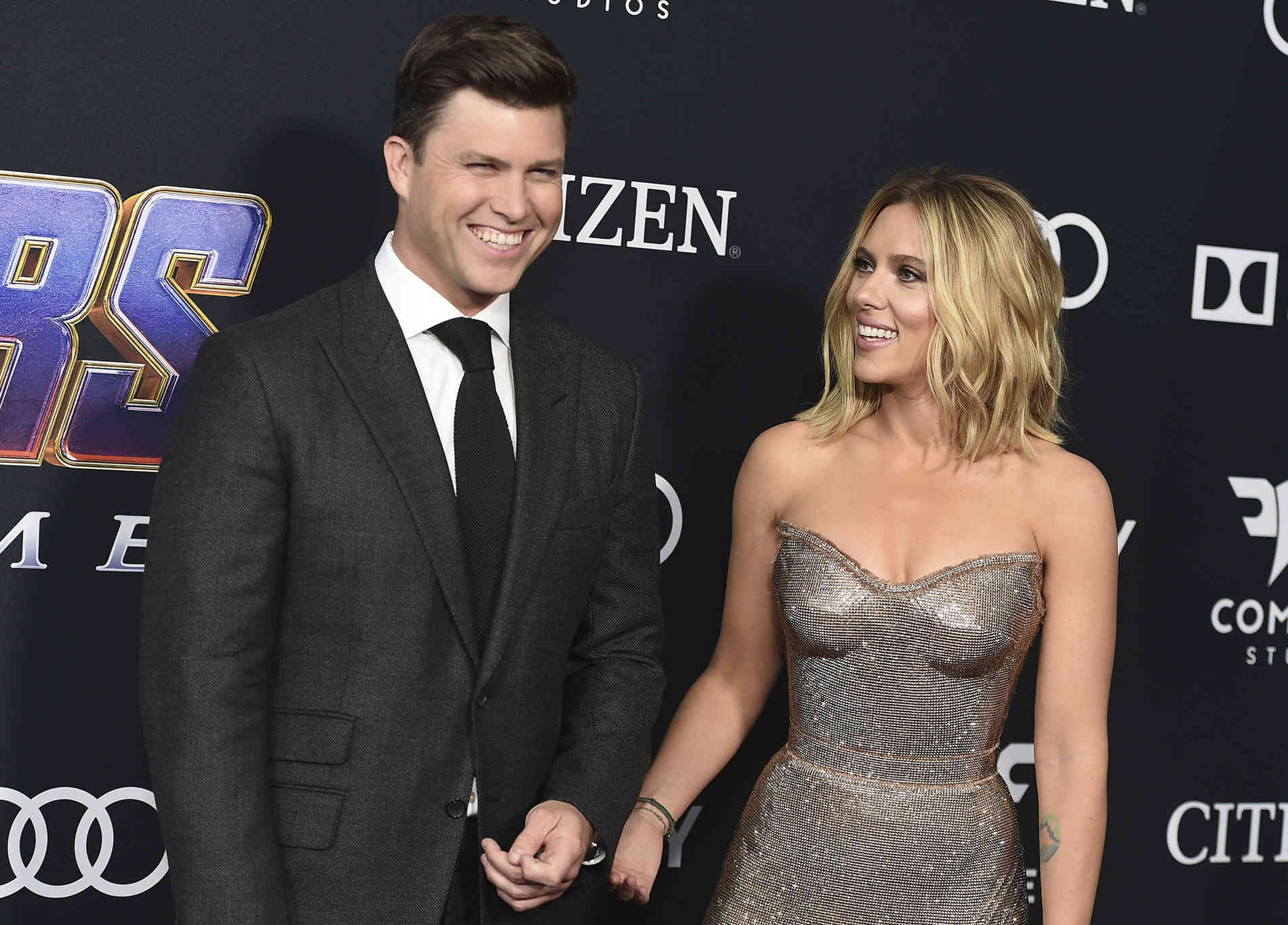 Scarlett Johansson hat sich verlobt!