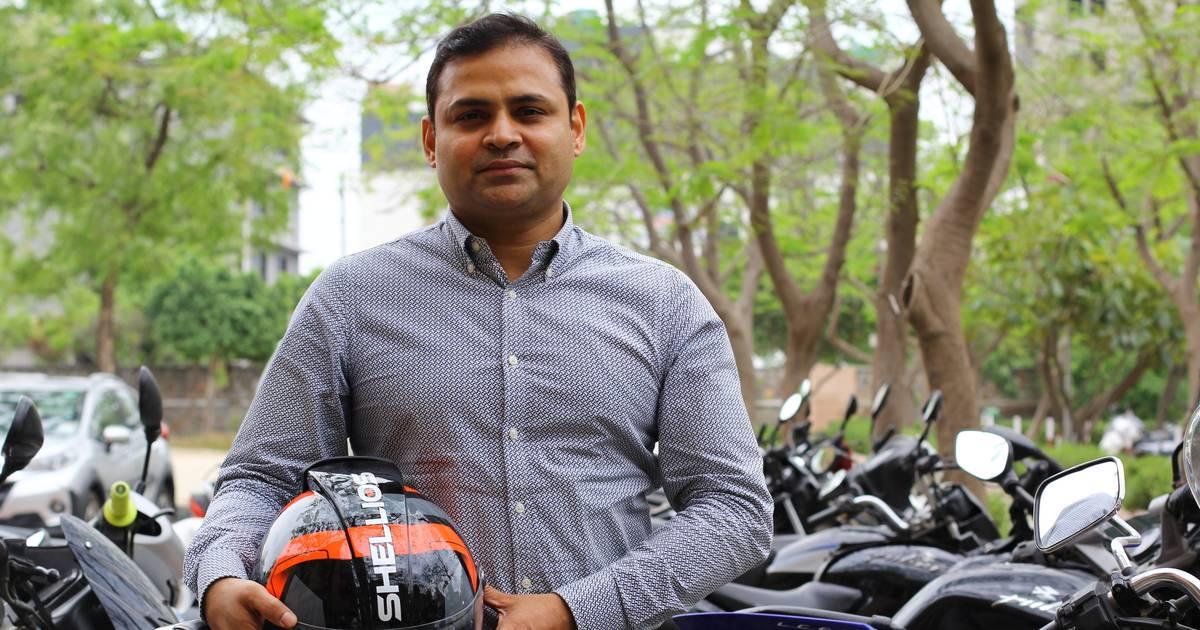 Ein indisches Startup entwickelte einen Motorradhelm mit Luftfilter