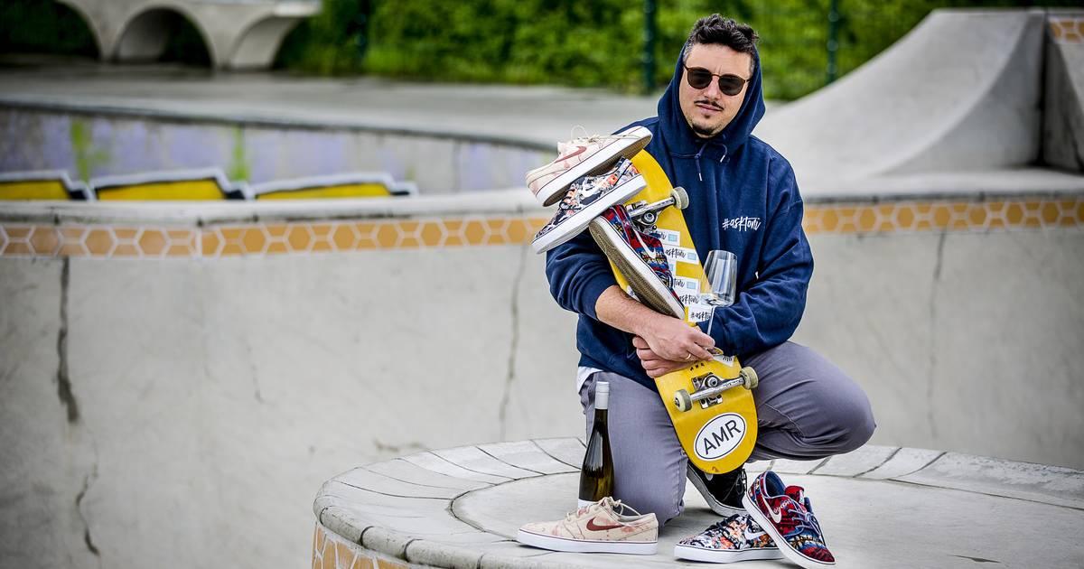 Toni Askitis aus Düsseldorf: Nicht nur Sommelier, sondern auch Sneakersammler