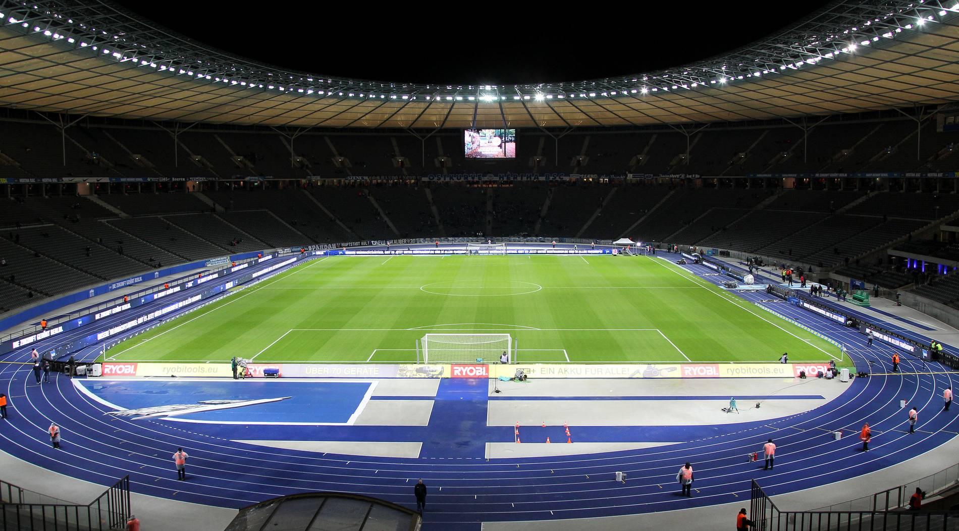 DFB-Pokalfinale in genderneutralem Olympiastadion