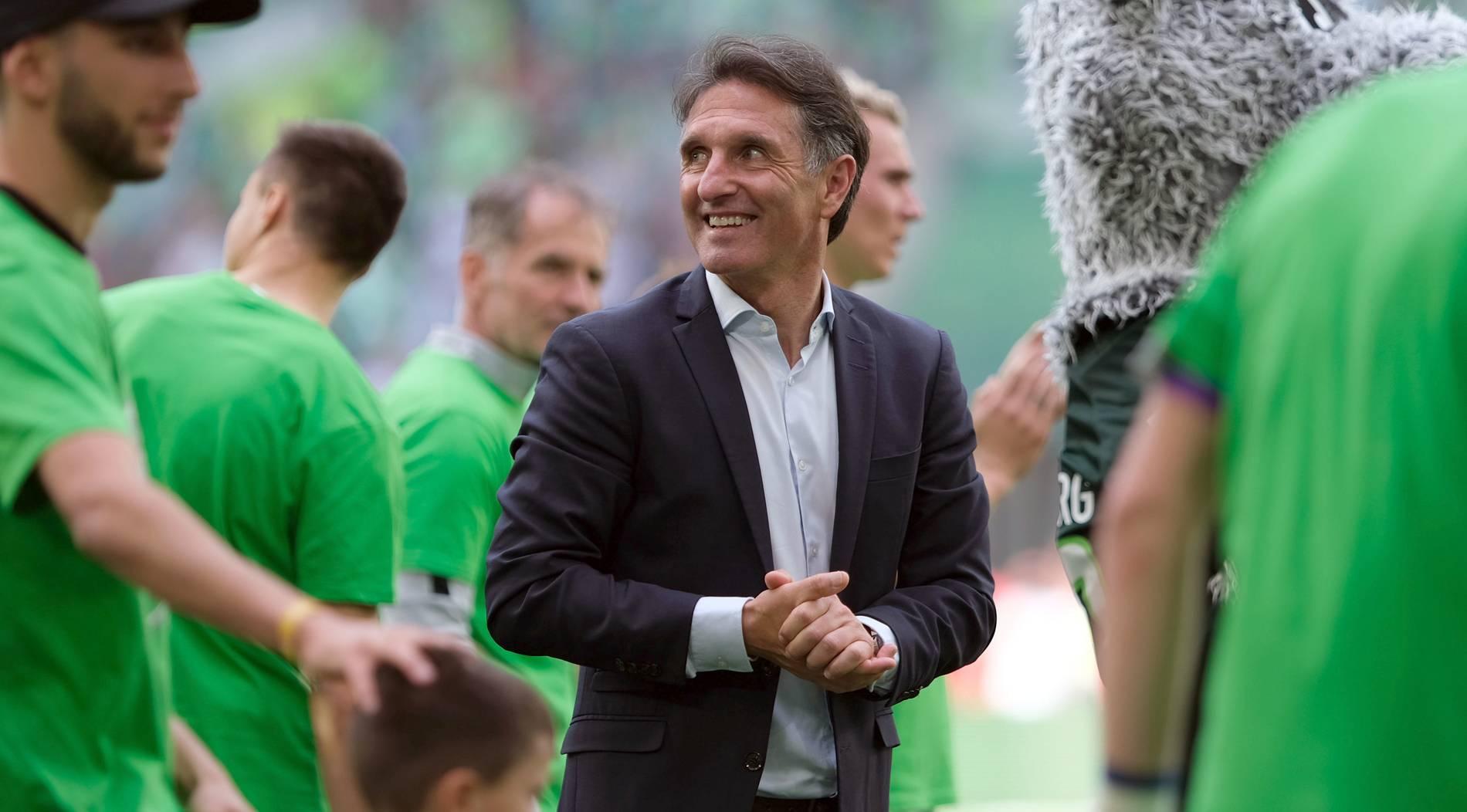 Labbadia verabschiedet sich mit Sieg gegen Frankfurt vom VfL Wolfsburg