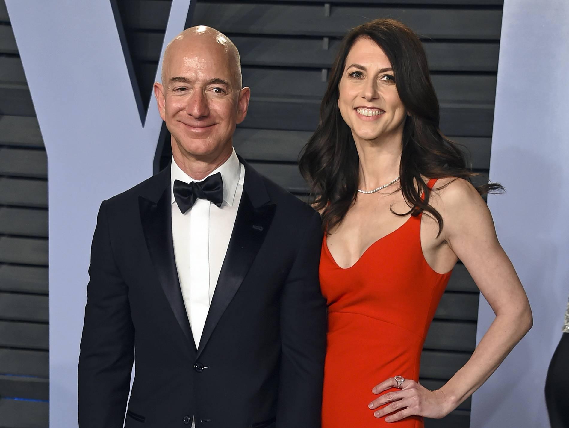 MacKenzie Bezos will mehr als Hälfte ihres Vermögens spenden