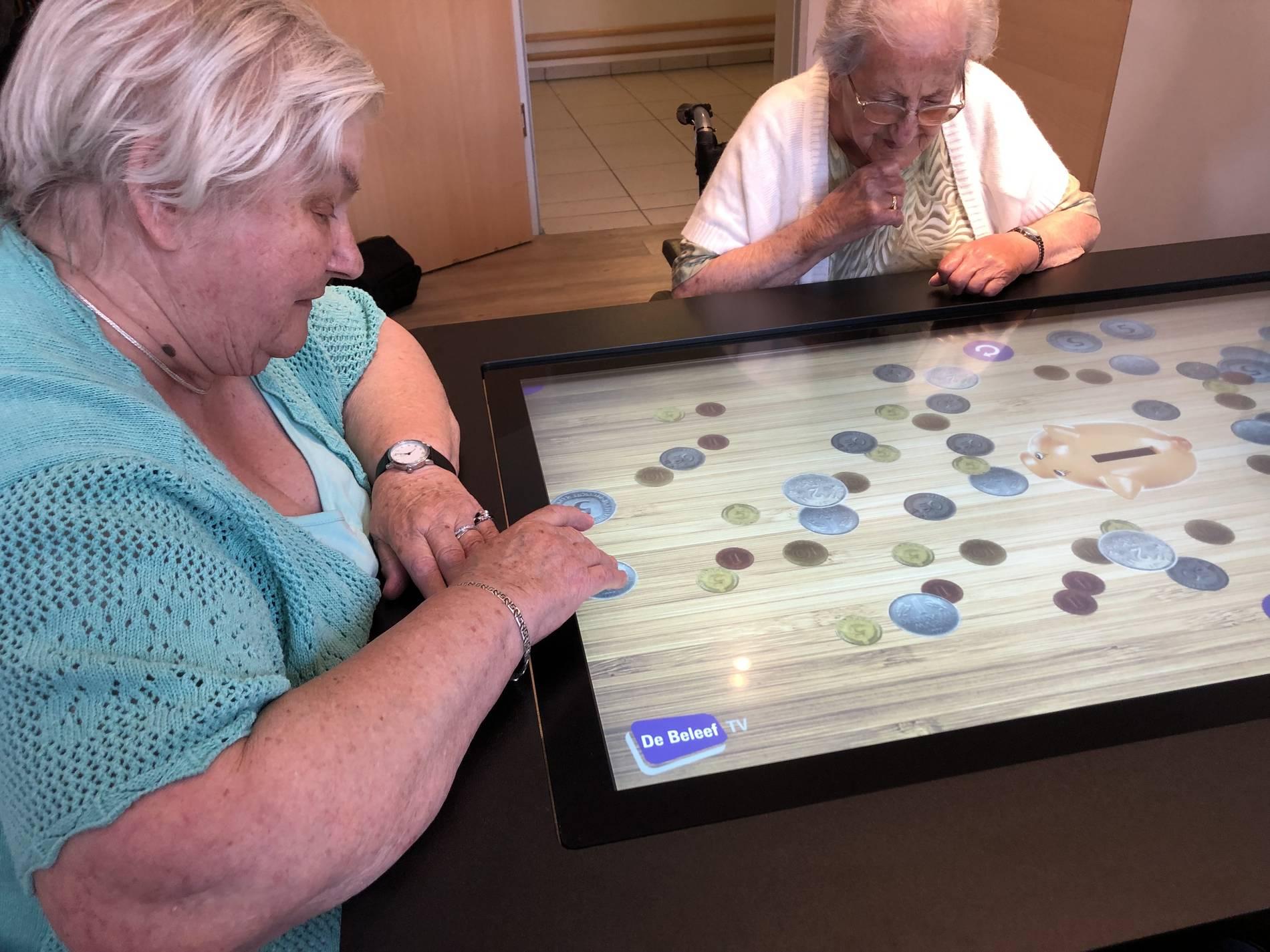 Neue Spielekonsole für Menschen mit Demenz in Sevelen