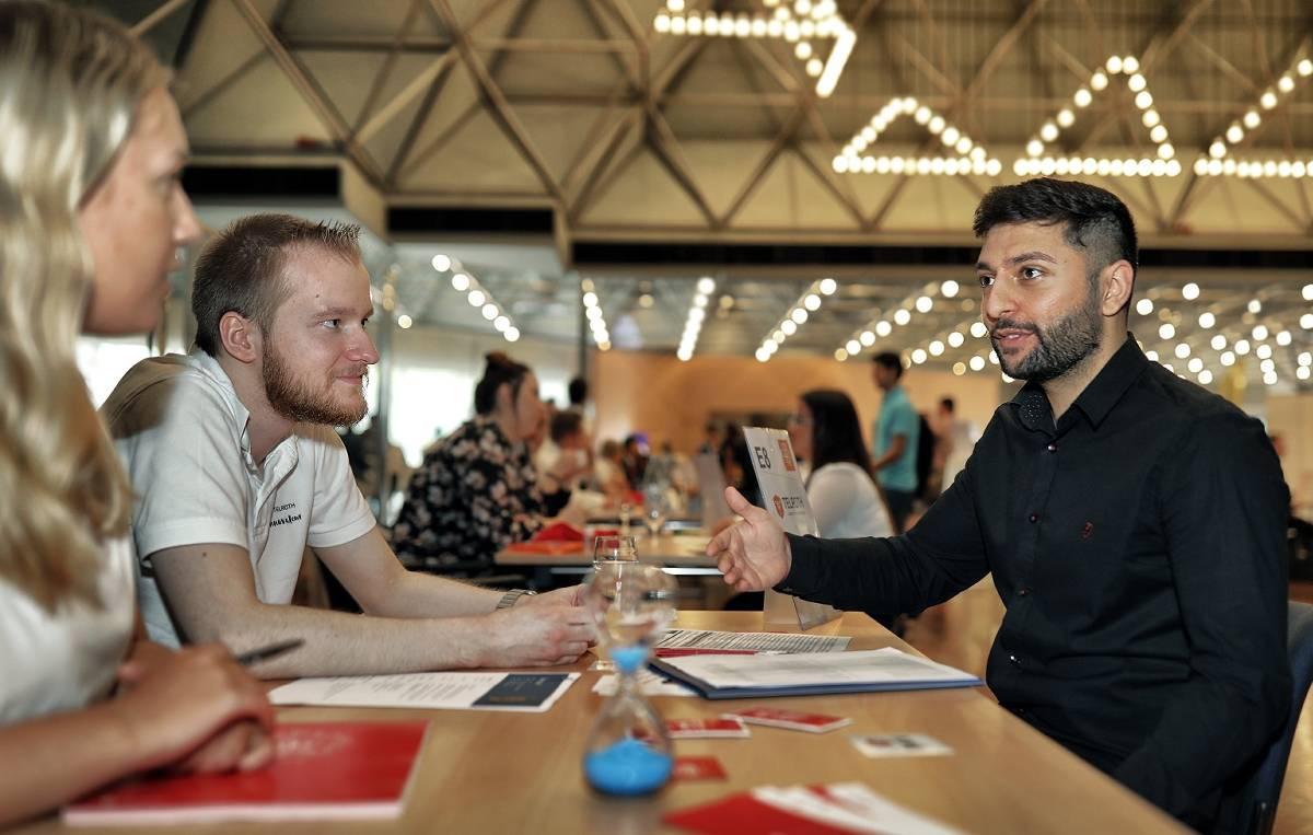 ausbildungs speed dating hildenbtob társkereső pletykák