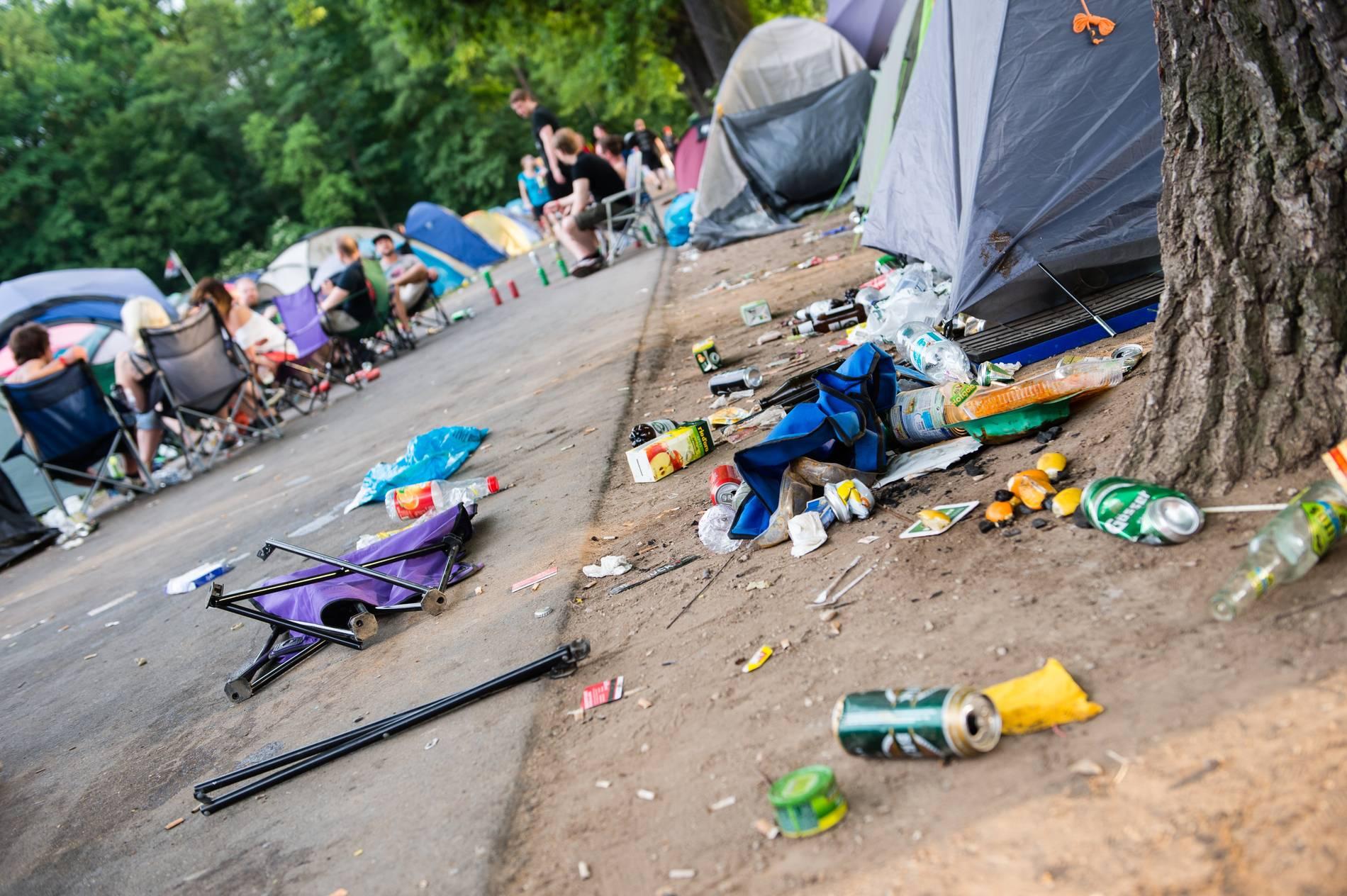 Rock Am Ring 2019 Müllproblem Auf Dem Festivalgelände