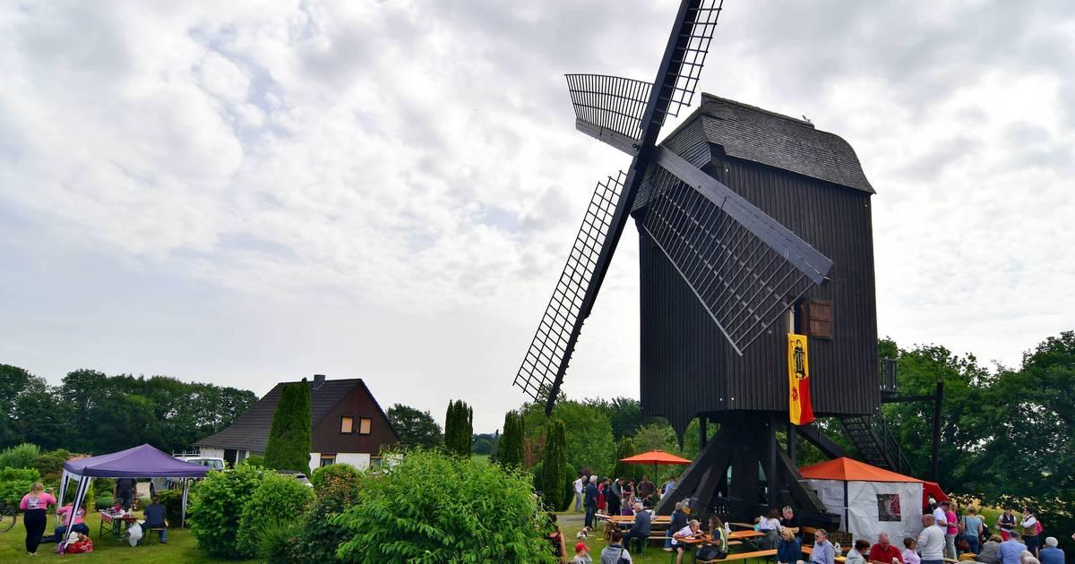 Ein Besuch in der Windmühle