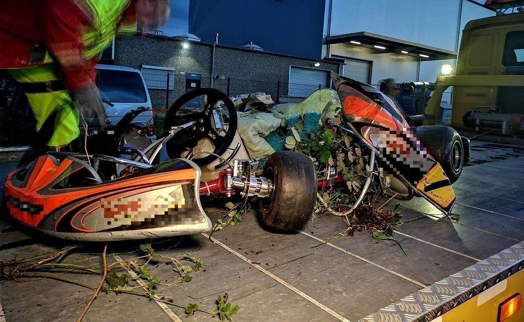 Gladbeck: Siebenjähriges Mädchen bei Unfall mit Renn-Kart schwer verletzt