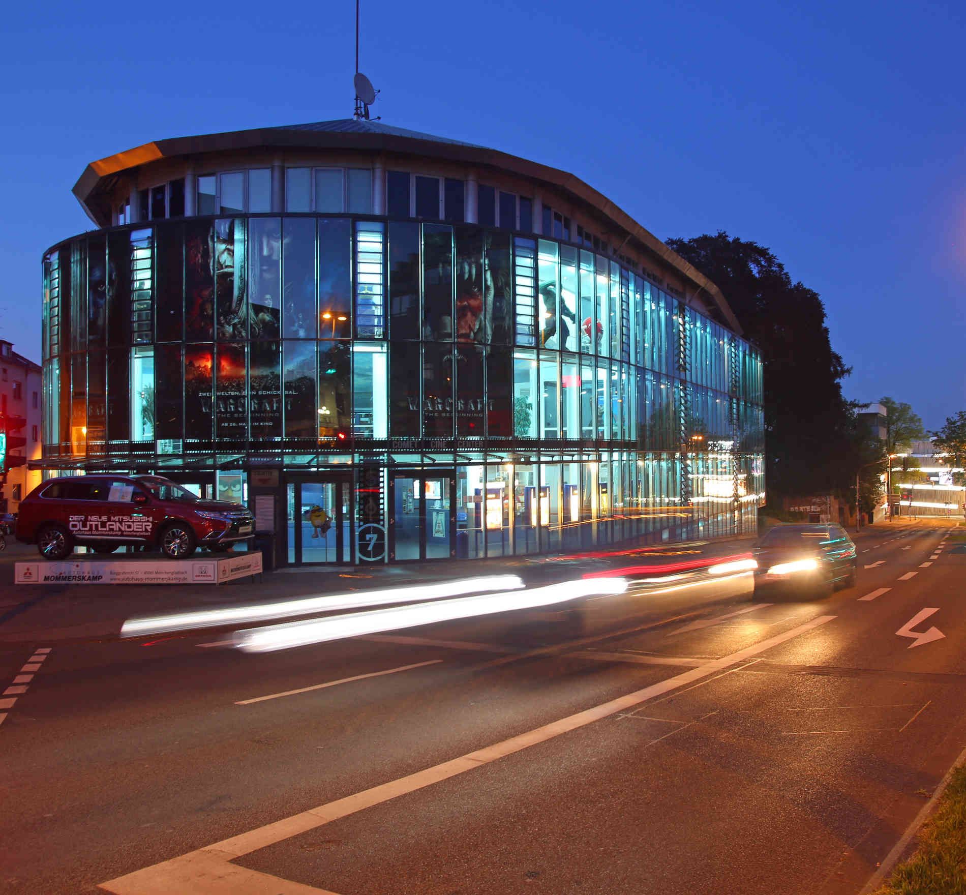 Comet Cine Center Programm