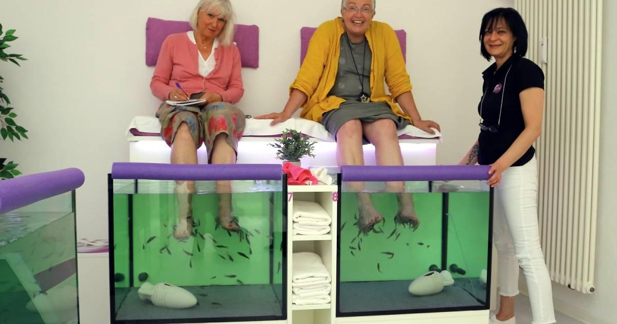 """""""Xantany Spa"""" in Xanten: So fühlt sich ein Fisch-Spa an"""