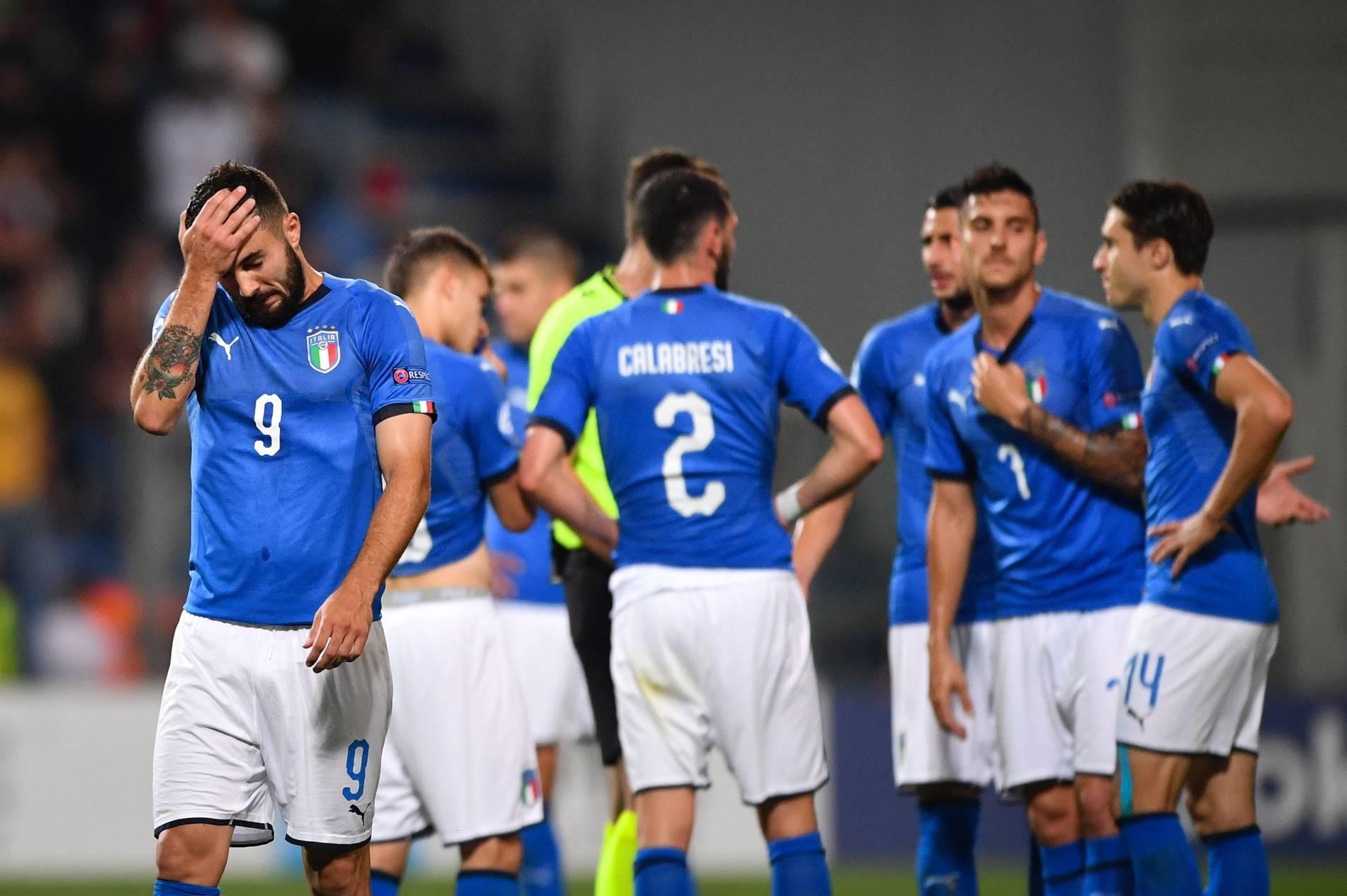 Em 2019 Italien Spanien