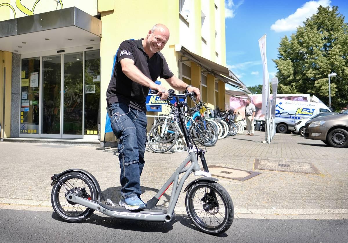 E Scooter Erobern Die Stadt Ratingen