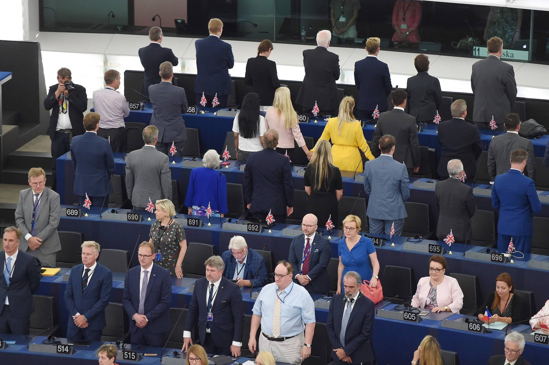 Europäisches Parlament - EU-Gegner provozieren in Straßburg