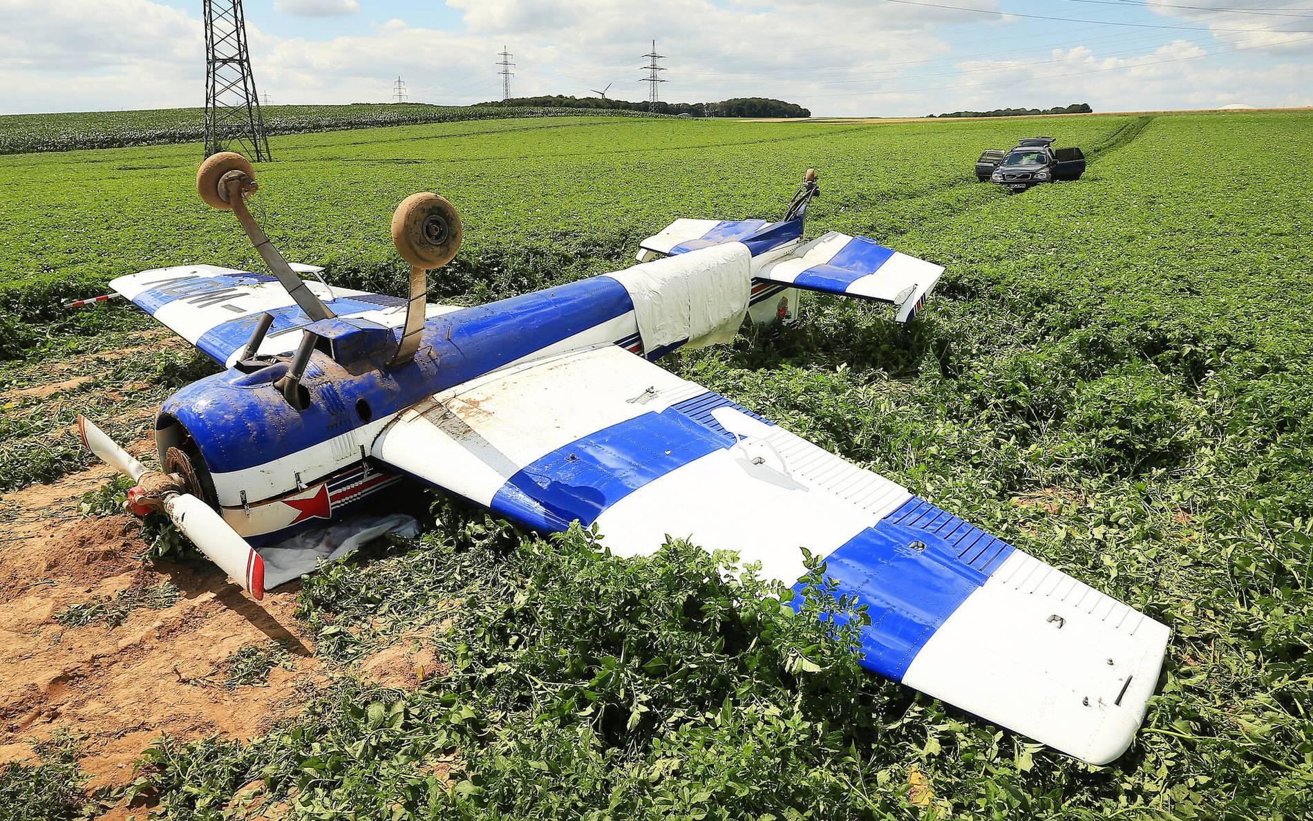 Kleinflugzeug Absturz Heute