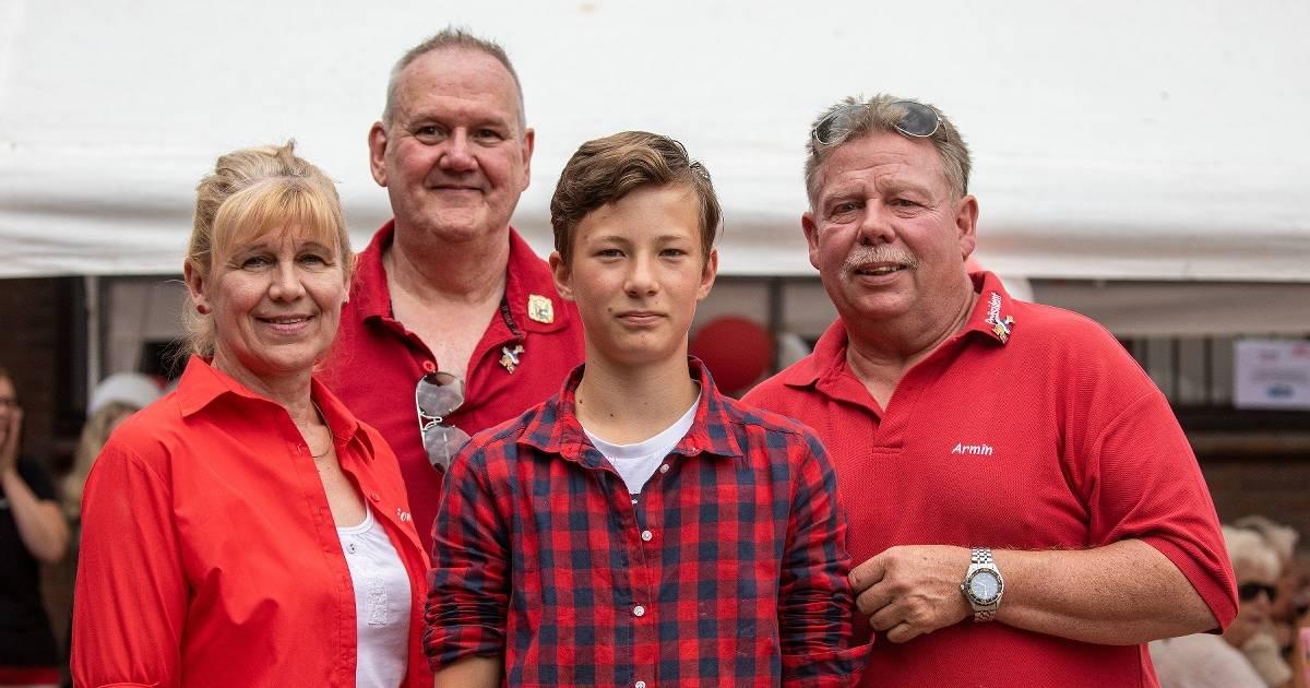Max Koschare wird erster KKV-Jugendprinz in Kamp-Lintfort