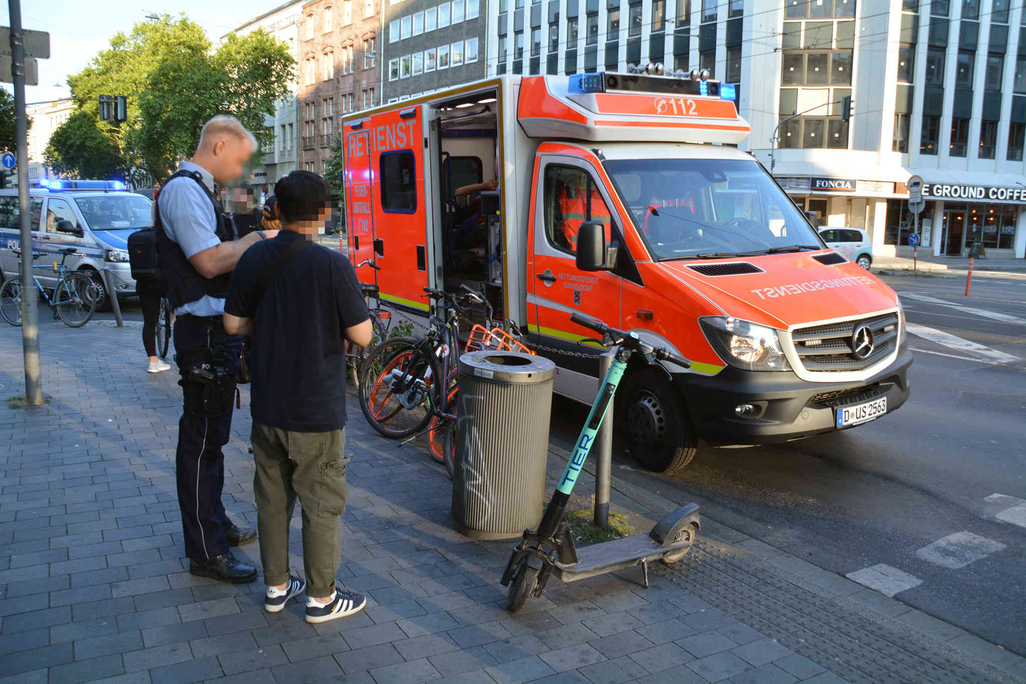 E Scooter Unfall