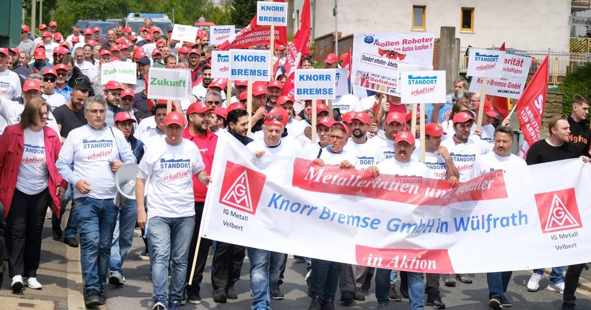 Knorr-Bremse: Gewerkschaft ruft zu Demo in Wülfrath auf