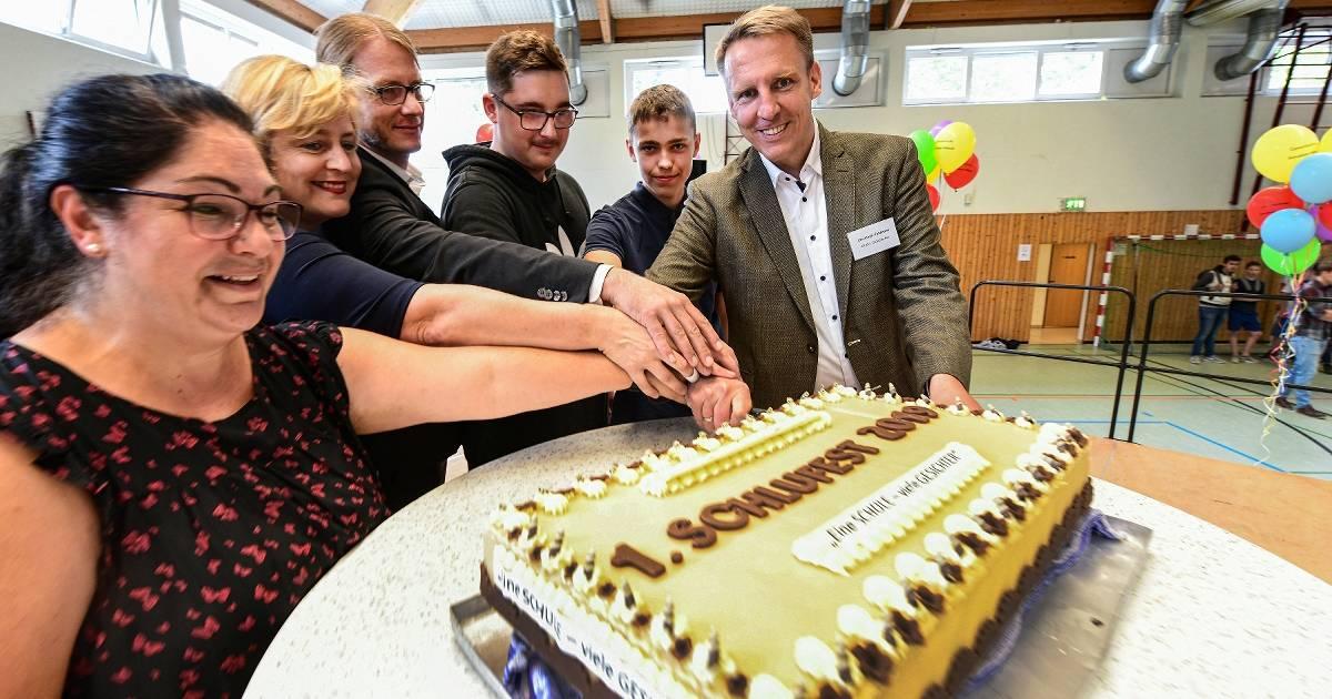 Die Gesamtschule Kevelaer-Weeze feierte kurz vor den Ferien ein großes Schulfest
