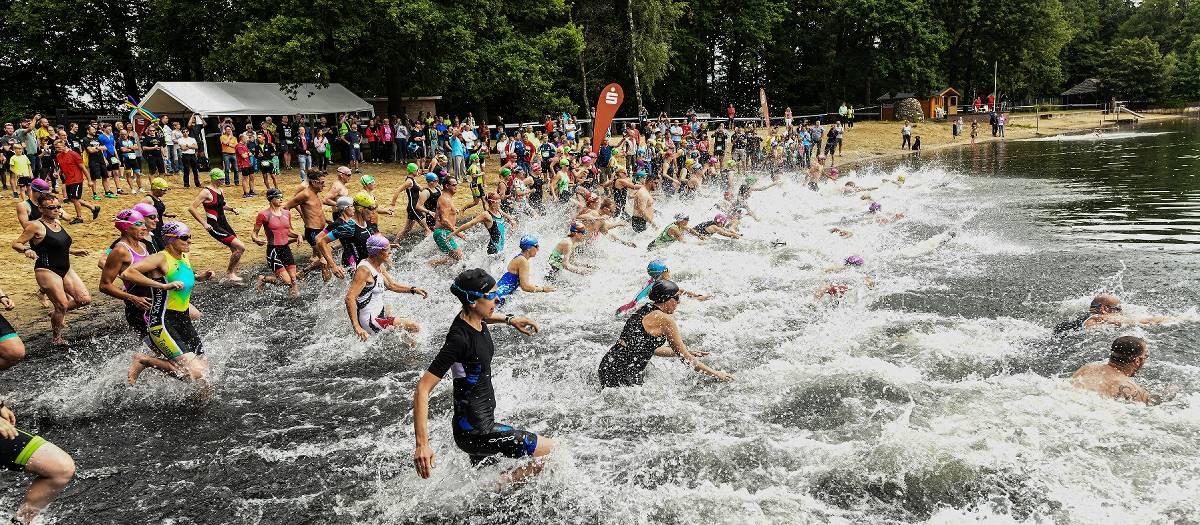 Das Triathlon-Volksfest am Eyller See