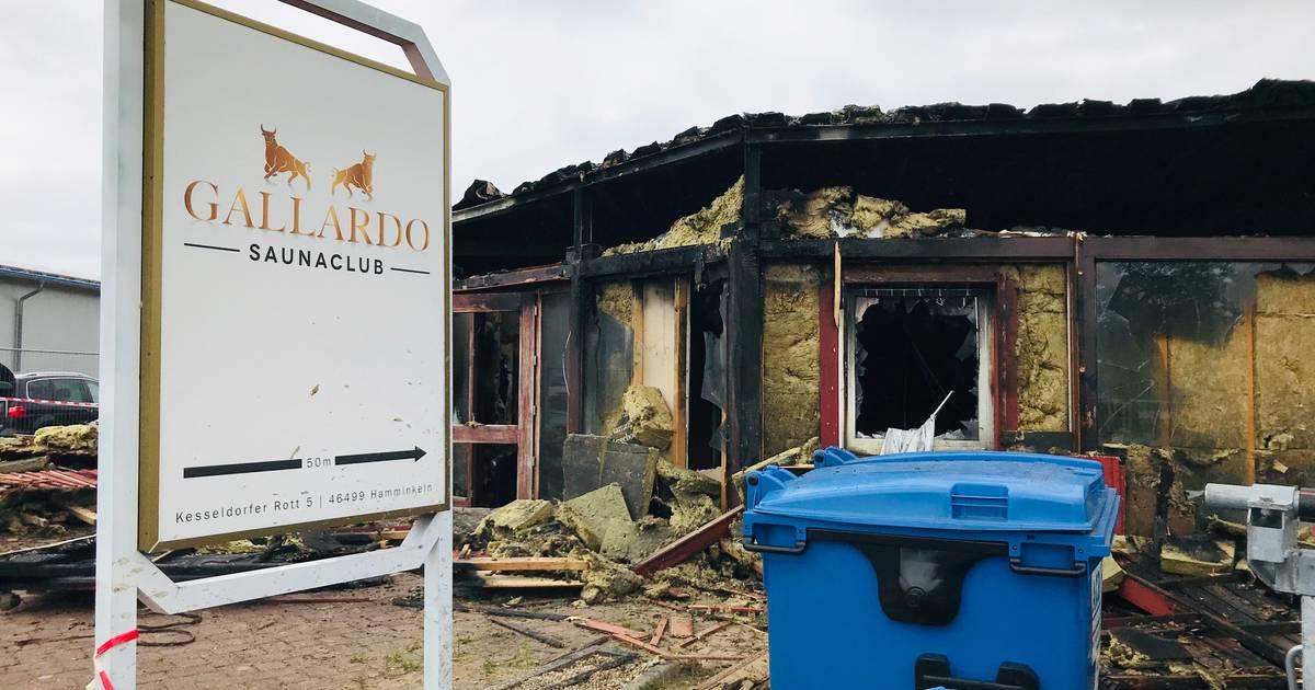 Polizei ist sicher: Feuer im Sauna-Club in Hamminkeln war Brandstiftung
