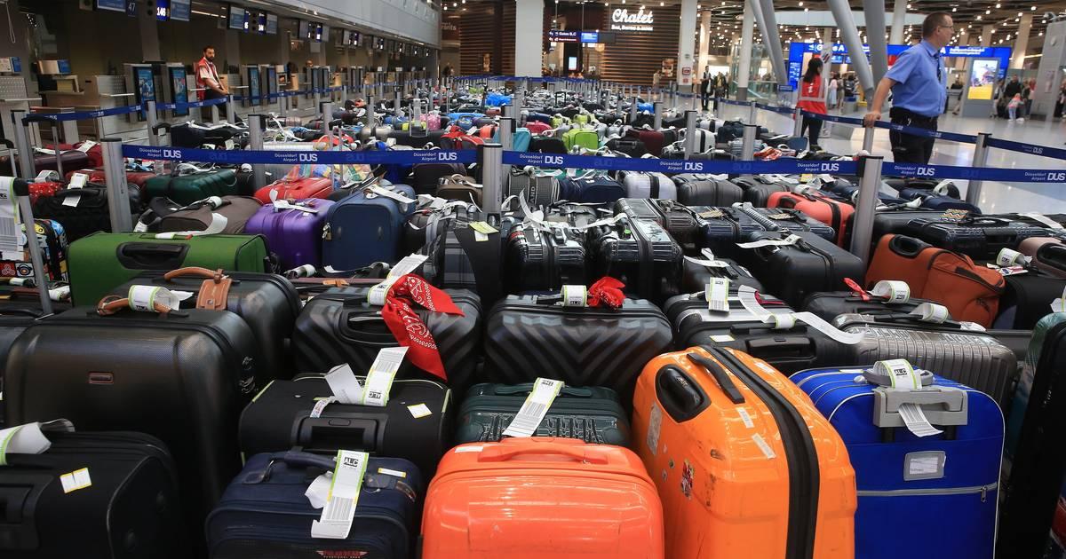 Flughafen Düsseldorf: Gepäckabfertigung läuft wieder - Koffer werden nachgeliefert