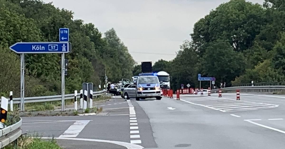 Polizei-Kontrolle bei Parookaville Anreise
