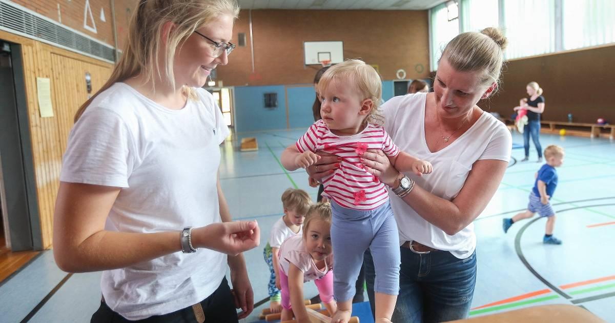 Düsseldorf-Hassels: Sport ist schon für die Kleinsten gut